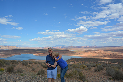 Holly and Luigi, LakePowell